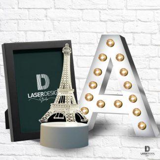 Lampade & Lettere 3d